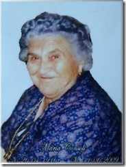 zia Maria a Maioscia
