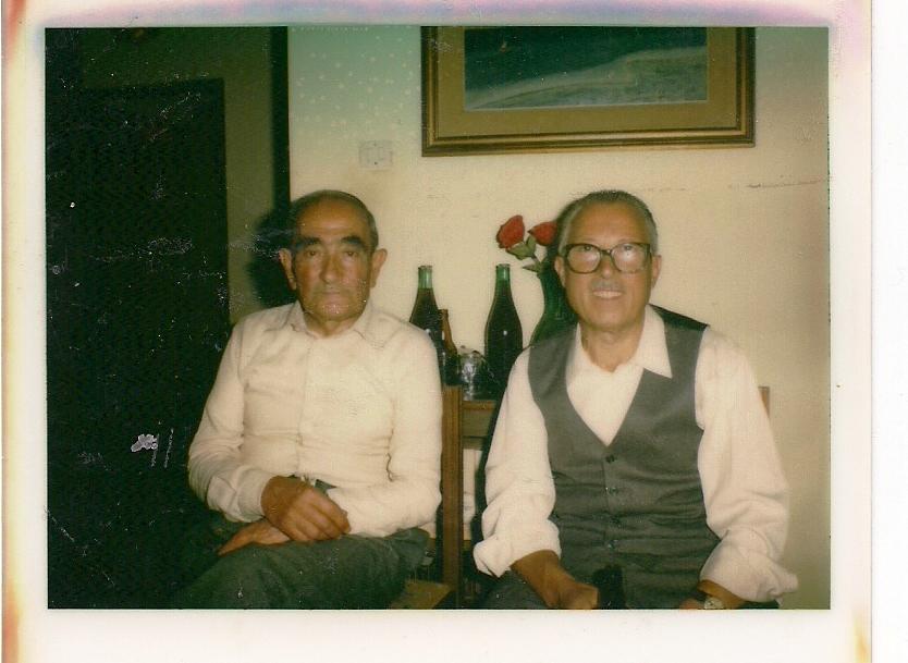 Nonno Domenico e zio Michele.