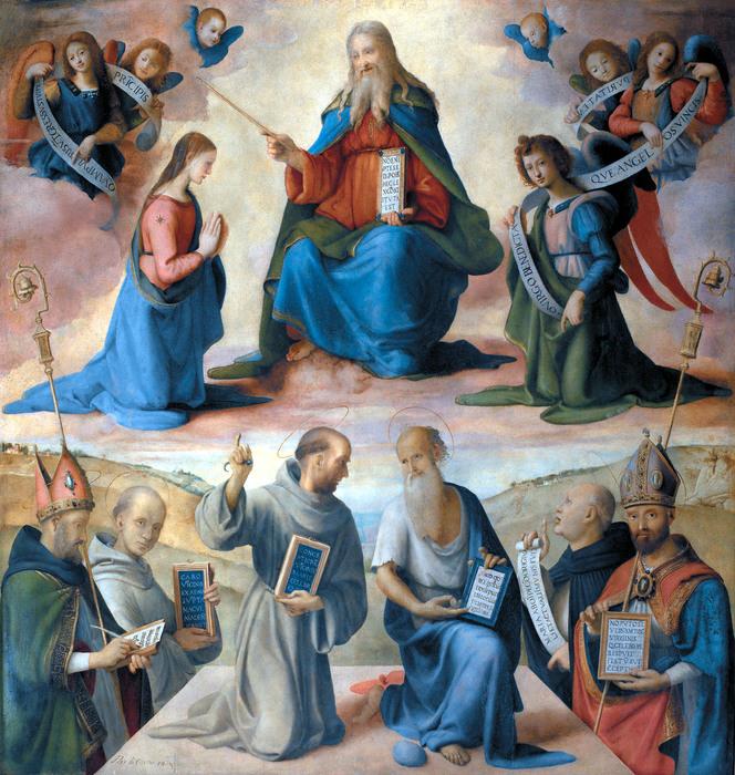 Piero di Cosimo, Immacolata e Santi, Fiesole, chiesa di San Francesco. Convento di San Francesco