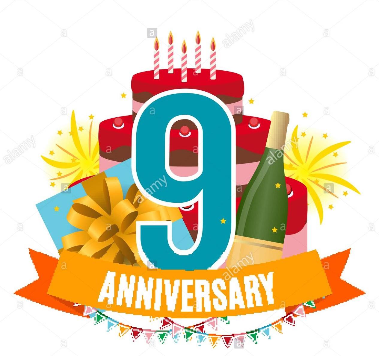 Auguri Buon Compleanno 9 Anni.9 Anni Buon Compleanno Al Nostro Giornale Giornale